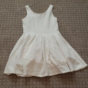 Pippa & Julie white formal dress